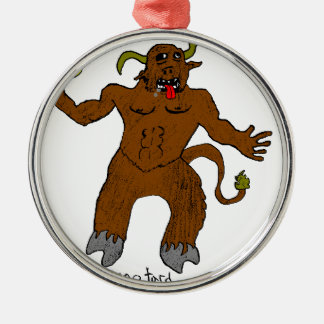 minotard metal ornament