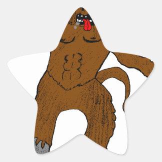 minotard star sticker