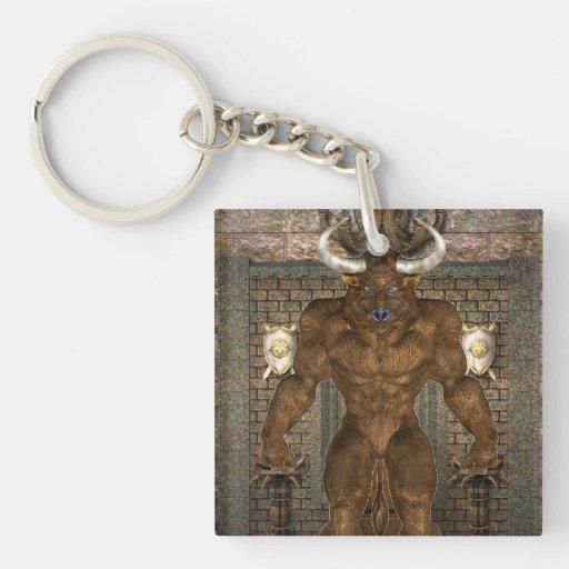 Minotaur Acrylic Keychain