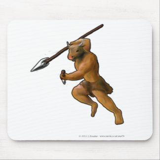 Minotaur Attack! (no slogan) Mouse Pad