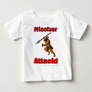 Minotaur Attack (with slogan) Baby T-Shirt