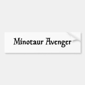 Minotaur Avenger Bumper Sticker