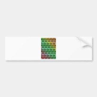 Minotaur Color Bumper Sticker