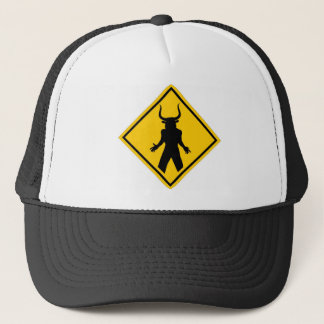Minotaur Crossing Trucker Hat