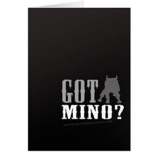 Minotaur - Got Mino? Greeting Card