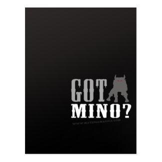 Minotaur - Got Mino? Postcard