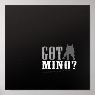 Minotaur - Got Mino? - Poster