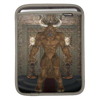 Minotaur iPad Sleeve