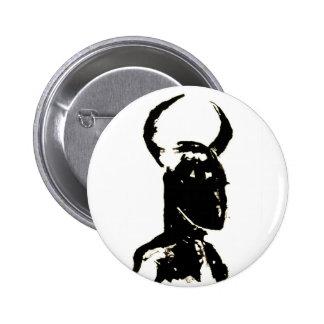 Minotaur no.13 pin redondo de 2 pulgadas