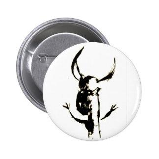 Minotaur no.21 pin redondo de 2 pulgadas