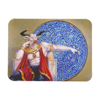 Minotaur with Mosaic Magnet