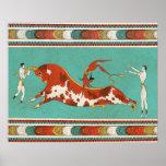Minotauro, el toro de Creta Póster