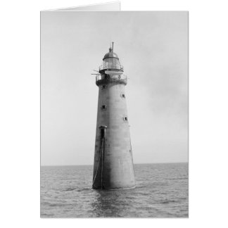 Minot's Ledge Light, 1880 Card