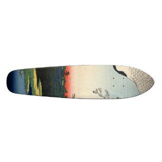 Minowa, Kanasugi, Mikawashima. Skateboard