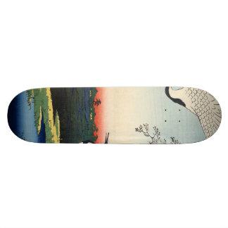 Minowa, Kanasugi, Mikawashima. Skateboard Deck