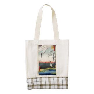Minowa, Kanasugi, Mikawashima. Zazzle HEART Tote Bag