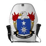 Minshull Family Crest Messenger Bag