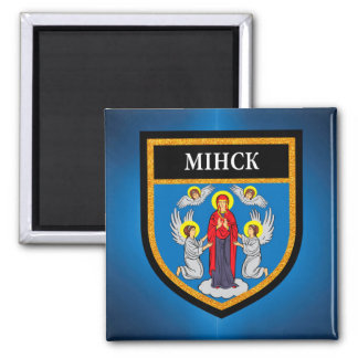 Minsk Flag Magnet