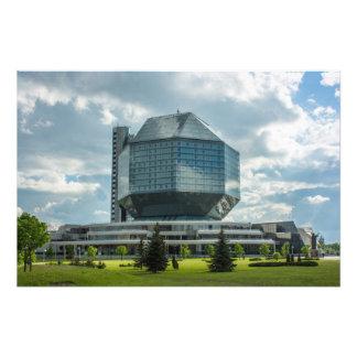 Minsk Library Photo Print