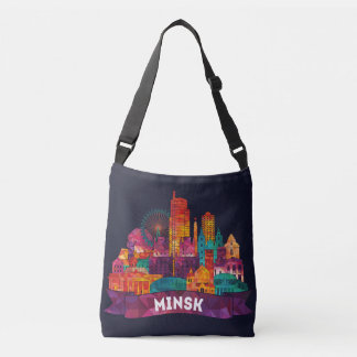 Minsk - Travel to the famous Landmarks Crossbody Bag