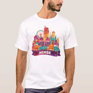 Minsk - Travel to the famous Landmarks T-Shirt