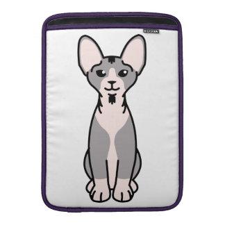 Minskin Cat Cartoon Sleeve For MacBook Air