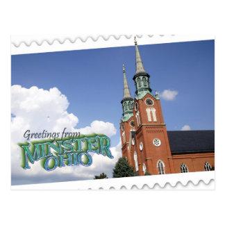 Minster, Ohio postcard