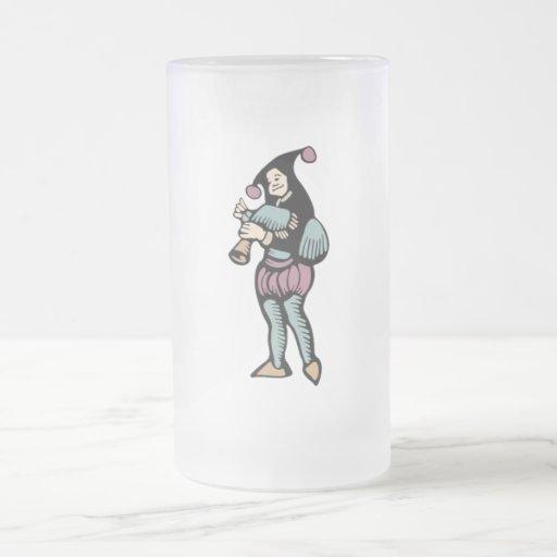 Minstrel 16 Oz Frosted Glass Beer Mug