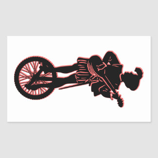 Minstrel Cycle Rectangular Sticker