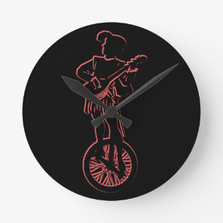 Minstrel Cycle Round Clock