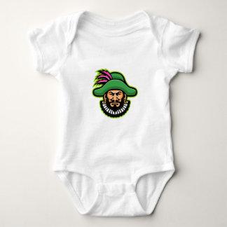 Minstrel Mascot Baby Bodysuit