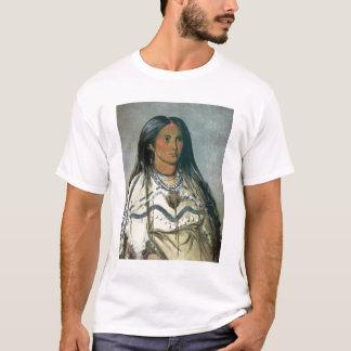 'Mint', a Mandan Indian girl, 1832 (colour litho) T-Shirt