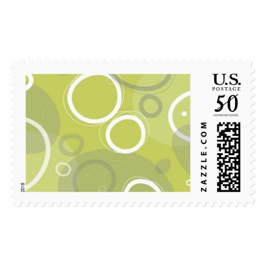 Mint Abstract Postage