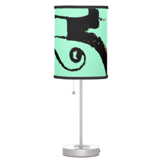 Mint Abstraction Table Lamp