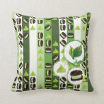 Mint and Chocolate Pillow