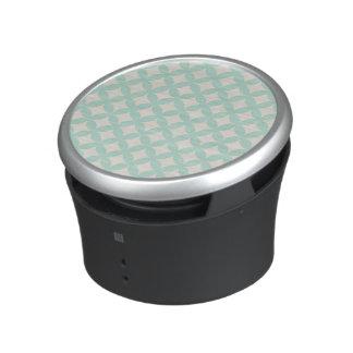 Mint and Cream Geocircle Design Speaker