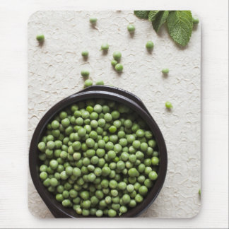 Mint and Peas Mouse Pad