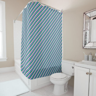 Bars Shower Curtains