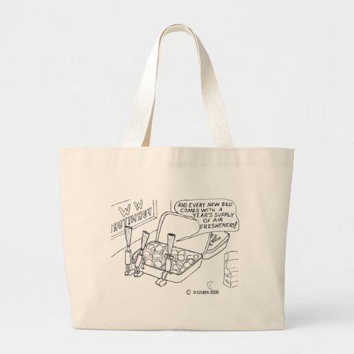 Mint Bed Jumbo Tote Bag