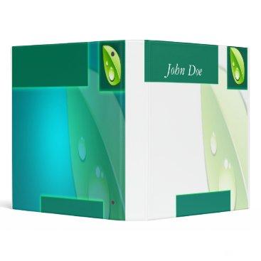 Professional Business Mint Binder
