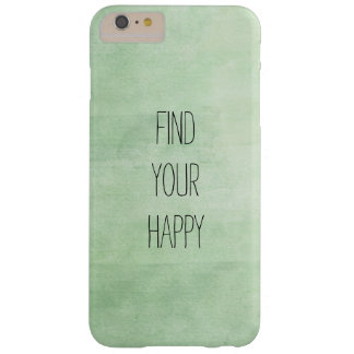 Mint Breeze Watercolor Barely There iPhone 6 Plus Case