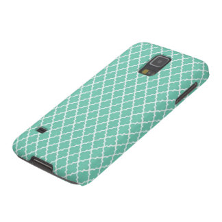 Mint Casablanca Pattern Case Galaxy S5 Cover