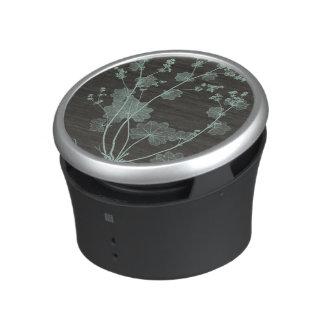 Mint & Charcoal Nature Study I Bluetooth Speaker