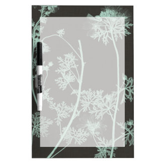 Mint & Charcoal Nature Study IV Dry-Erase Board