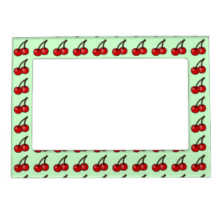 Mint Cherry Magnetic Frame