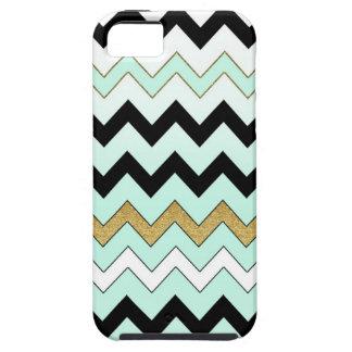 Mint Chevron iPhone Case iPhone 5 Case