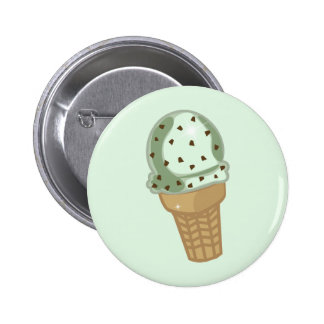 Mint Chocolate Chip Button