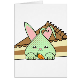 Mint Chocolate Chip Hopdrop And Cake Greeting Cards