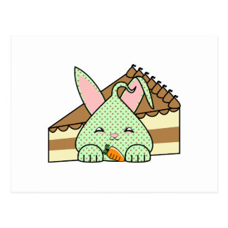 Mint Chocolate Chip Hopdrop And Cake Postcard
