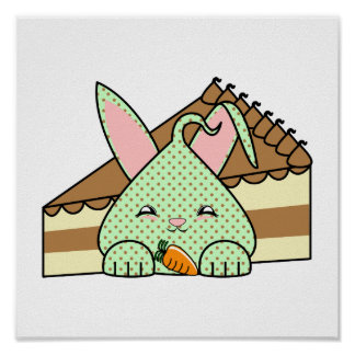 Mint Chocolate Chip Hopdrop And Cake Poster
